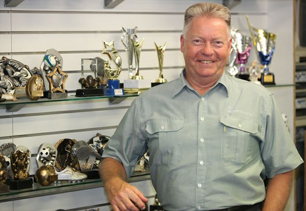 Business mentor Rod Richards.