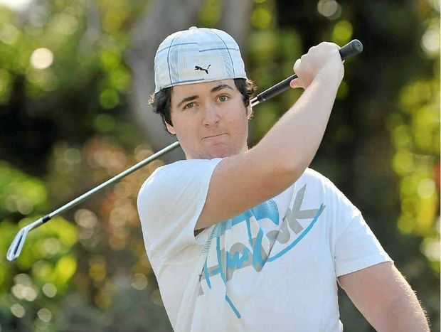 Caloundra golfer, Matthew Durham, is back on the course after suffering a stroke last year.