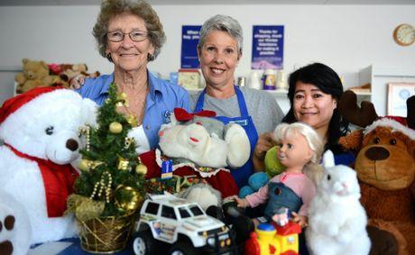 Dawn Holland, Jennie Leathley and Diane Schneider. Photo: John Gass / Daily News
