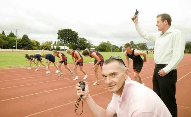 Gerrard Keating is keen to return to the Toowoomba athletics' coaching ranks.