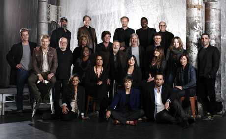 The group of Aussie actors who star in the History Channel special The People Speak.
