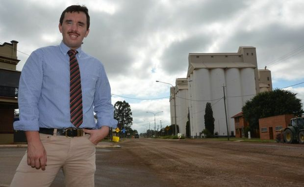 WORK ON THE WAY: Councillor Damien Tessmann is confident in the new system that allows South Burnett residents to lodge their road concerns.
