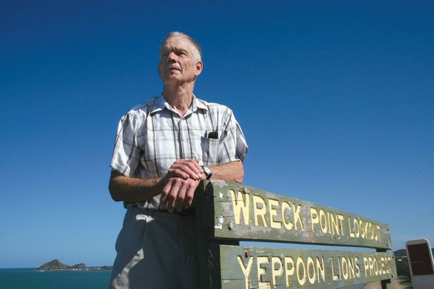 For Peter Cook, Yeppoon's Wreck Point is not just a lookout. It's a place of shipwreck and survival against all odds.