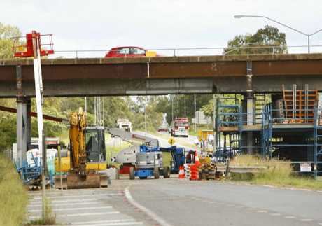 CONFUSION REIGNS: Rumours of another delay to the reopening of Ripley Rd overpass persist despite departmental assurances.