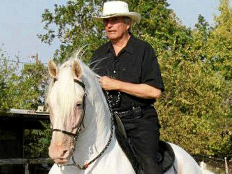 HORSE EXPERT: American horse medium and breeder Gary Douglas is in Australia teaching techniques to better people's lives.