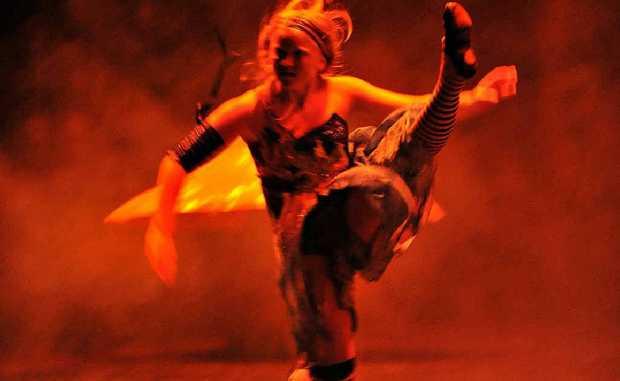 Lauren West as Alice.