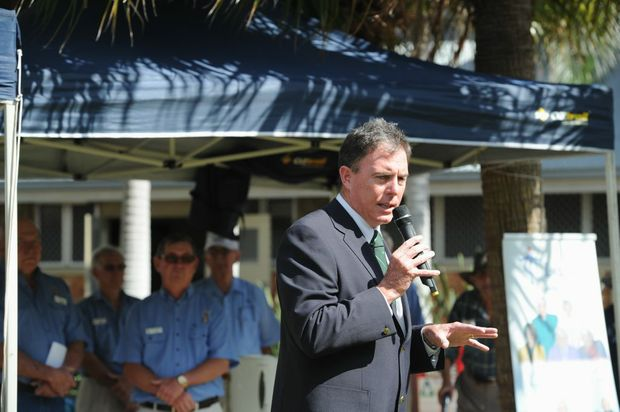 Fraser Coast Mayor Gerard O'Connell is encouraging everyone to boast about the region following the launch of a new campaign called Fraser Coast Boasters.