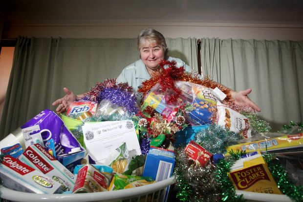 Colleen Benson from Logan East Community Neighbourhood Centre where they are rallying up donations for the Adopt-A-Family appeal. Photo: Inga Williams / The Reporter