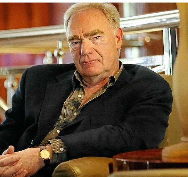 World-renowned screenwriting guru and lecturer, Robert McKee.