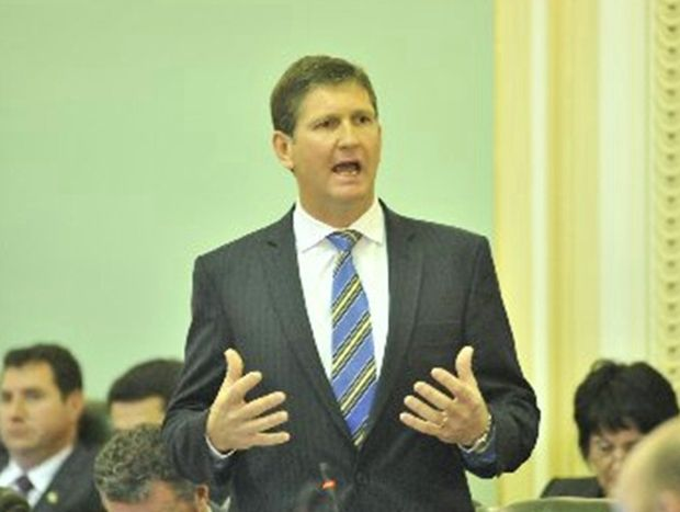 Queensland Health Minister Lawrence Springborg