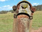 Mystery behind a lone gravesite in a paddock