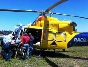 CareFlight flies back-to-back rescue missions on Saturday