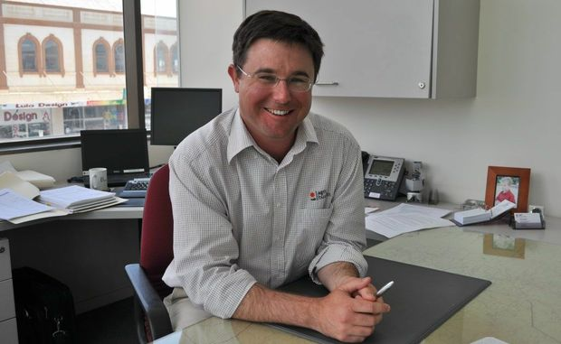 Warwick Chamber of Commerce president David Littleproud.