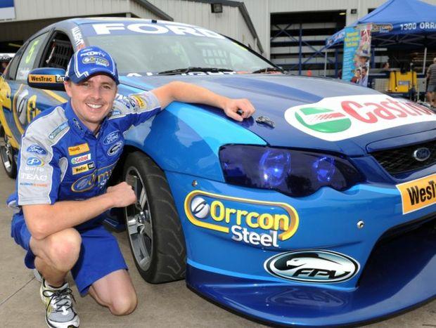V8 Supercar driver Mark Winterbottom.