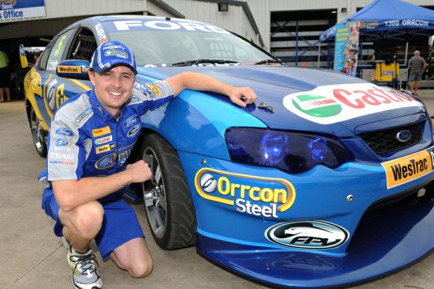 V8 Supercar driver Mark Winterbottom.