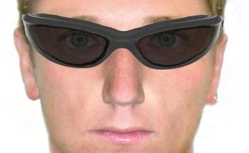 A comfit of one of the suspects from an armed robbery of a Toowoomba convenience store.