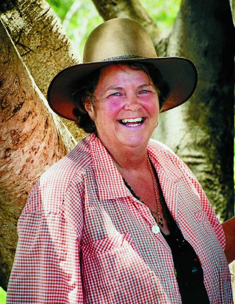 SMILES: Kaye Shadbolt is the new president of the Byron Farmers' Market committee. The market turns 10 today.