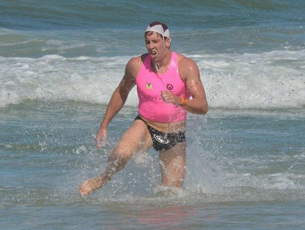 Maroochy Surf Classic Open Men's winner Mitch Miller.