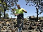 Fire destroys Oakey man's recycling dream