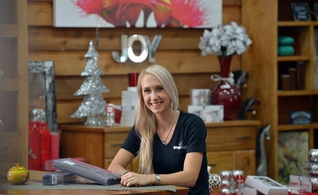 Katie Durkin of Open House, in the Maroochydore store.