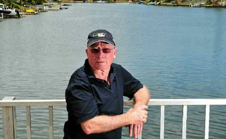 Noosa Waters Residents Association president Gary Trevithick.