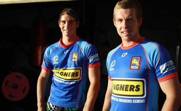 TRIAL LEADERS: Ben White and Haydan Lipp will lead the Clydesdales under 20s this Saturday.