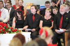 Funeral for Daniel Morcombe at St Catherine's Church, Sippy Downs.
