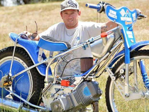 Josh Coyne is rapidly progressing in his speedway solo bike racing career.