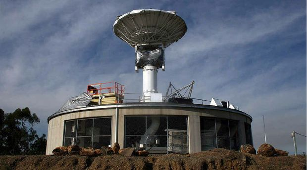 AWAITING REPAIRS: The Redbank Plains weather station which collects data for research, but is out of action.