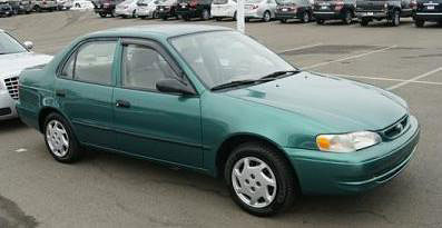 Benjamin Law may be driving a green 1998 Toyota Corolla with Queensland registration 312SHZ.