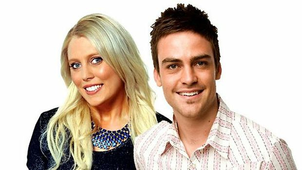 Sydney radio hosts Mel Greig and Michael Christian