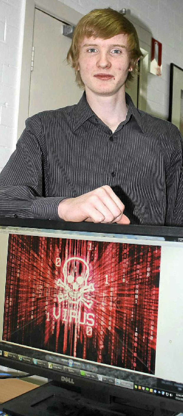 BEWARE: Thomas Pitt is warning computer owners to be vigilant to avoid being taken to the cleaners by criminal hackers.