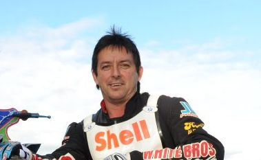 TRACK RACING: Darrin Winkler pictured before heading down to Maryborough for a speedway event (file photo). Photo: Mike Knott / NewsMail