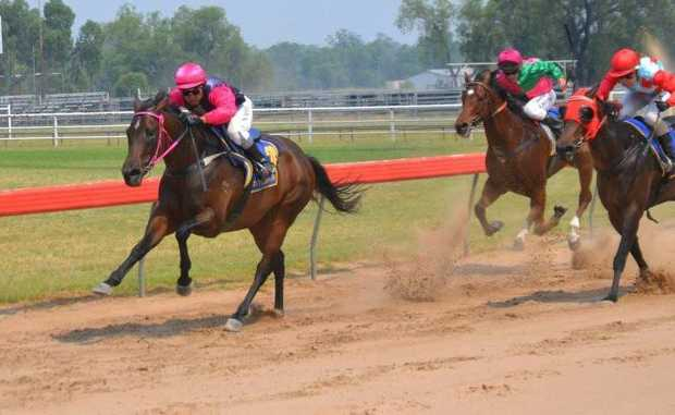 Noriyuki Nishio rides Easy Game to victory in Race 2 at Roma on Saturday.