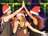 IPSWICH came alive with the sound of Christmas at the weekend.