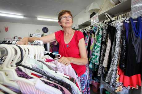 Jenny O'Neil at Wombat Clothing Store Logan Central which will be closing it's doors this month. Photo: Inga Williams / The Reporter