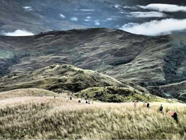 PNG's remote and rugged heart challenged the trekkers at every turn.