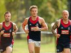 Demons players bond at AFL training camp in the Top End