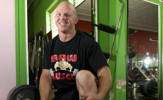 Nathan Allen in the powerlifting national record books for a second year in a row.