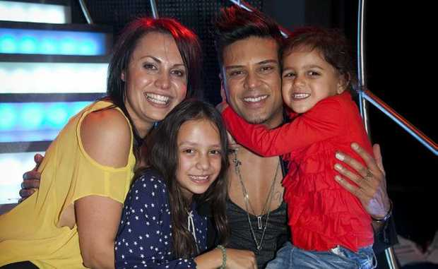 THIS COULD BE YOU: 2012 Australia's Got Talent winner Andrew de Silva and his family.