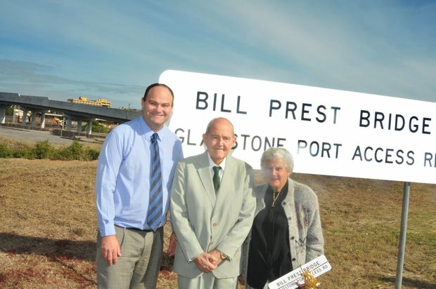 Gladstone icon Bill Prest will be remembered at a funeral today