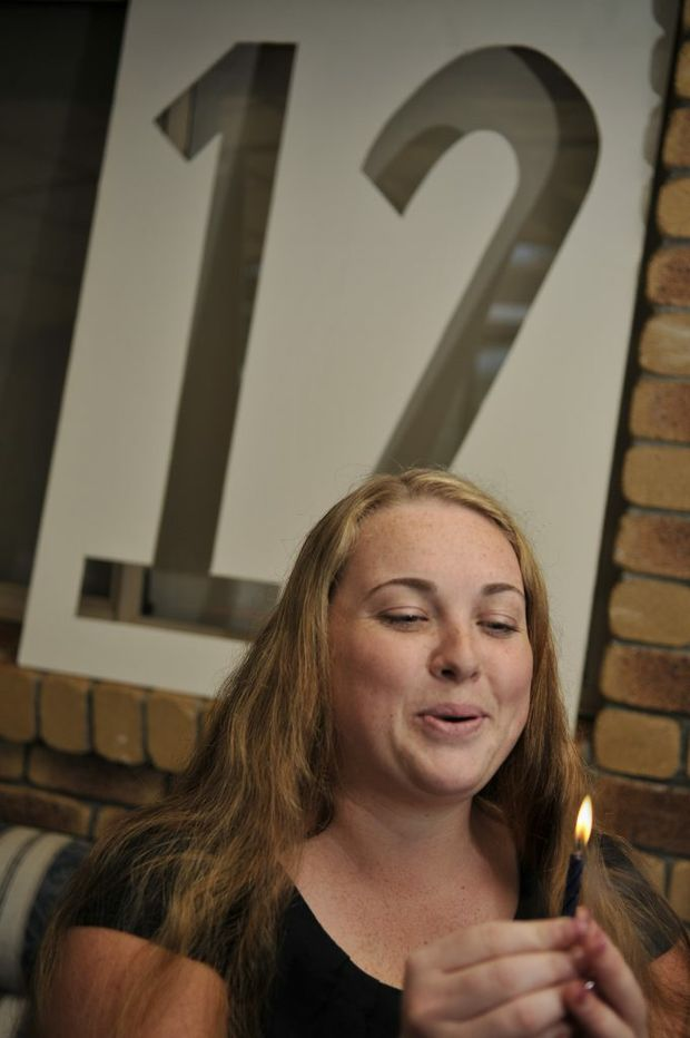 Suzanne Van Bael turns 21 on 12 December 2012. Photo Dave Noonan / The Chronicle