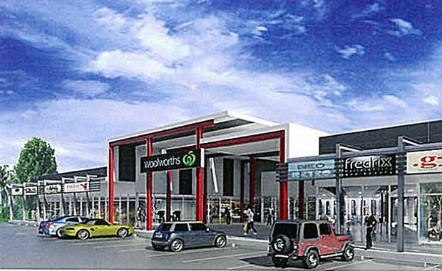 An artist's impression of the proposed Torquay Shopping complex.