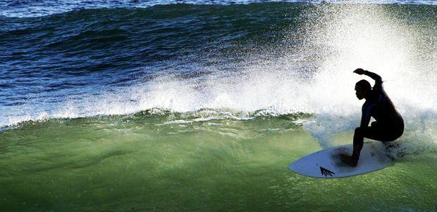 Morning surf at Kirra.