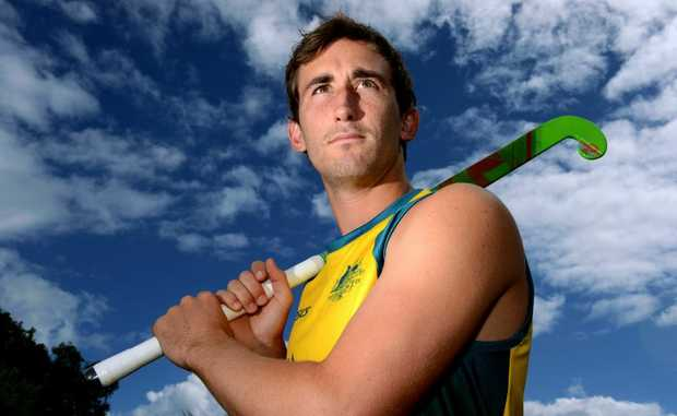 Jason Wilson is a Aussie hockey player. Photo: John Gass / Daily News