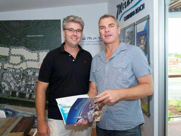 Scott Carpenter and Dave Gullis at the Miramar launch.