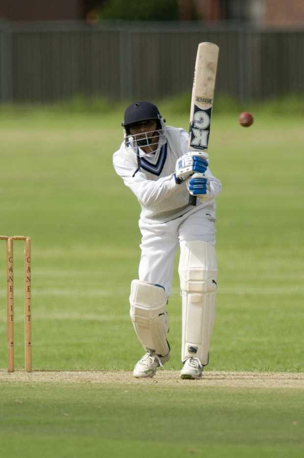University batsman Hemal Shah has been dismissed just three times in eight innings this season.