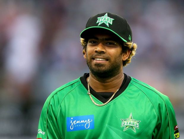 Lasith Malinga of the Stars walks from the field after the Scorchers were bowled out during the Big Bash League match between the Perth Scorchers and the Melbourne Stars at WACA on December 12, 2012 in Perth, Australia.