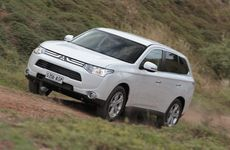 Mitsubishi's new Outlander.