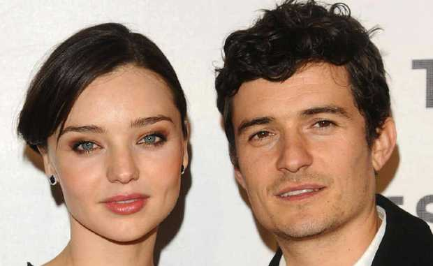 ON THE ROCKS? There are rumours surrounding Miranda Kerr and Orlando Bloom's marriage.